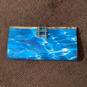 Kate Spade water design clutch